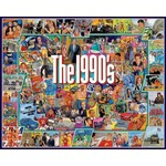 White Mountain Puzzles The Nineties - 1000 Piece Jigsaw Puzzle