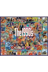 White Mountain Puzzles The Nineties 1000-piece Jigsaw Puzzle