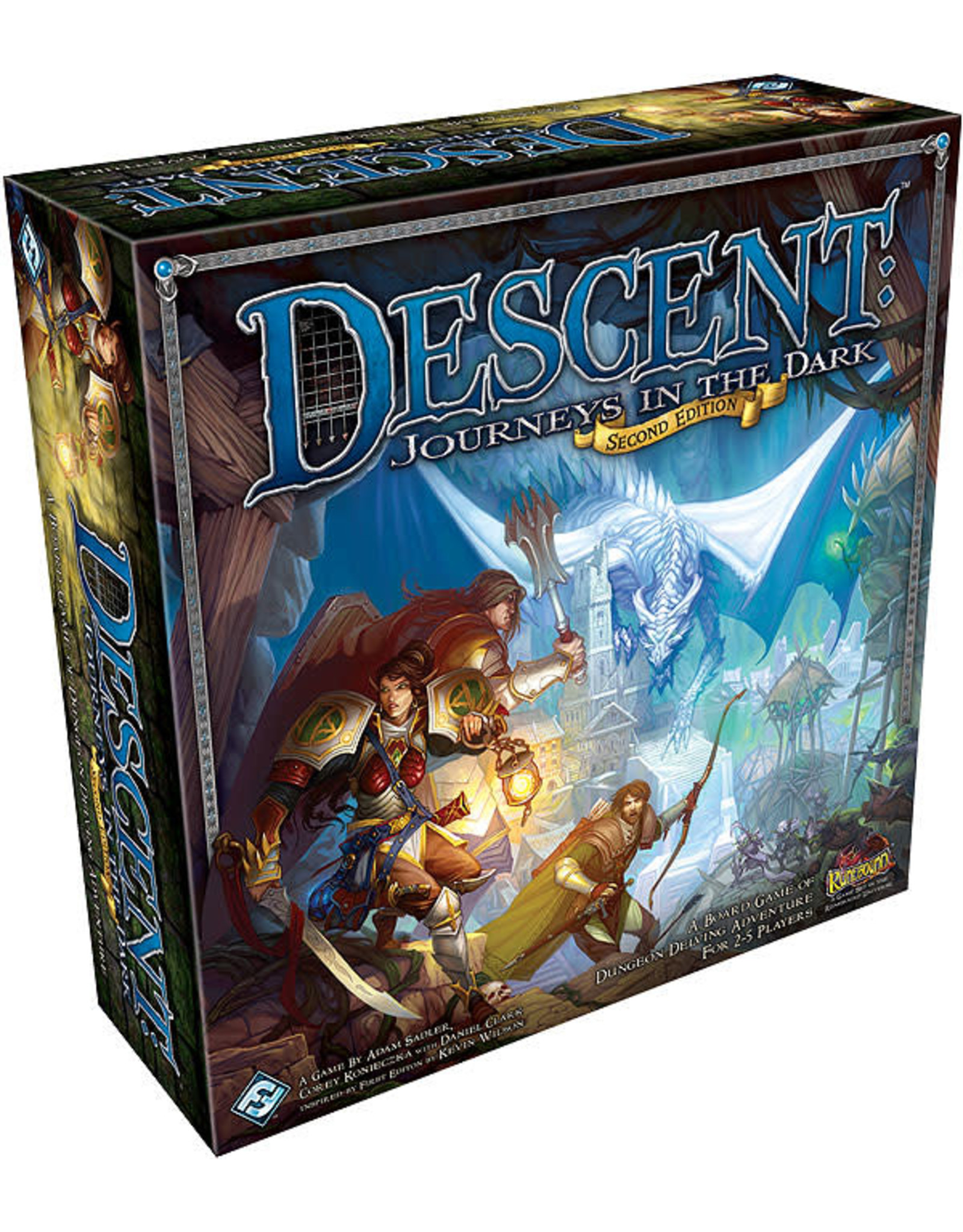 Fantasy Flight Games Descent: Journeys in the Dark 2nd Edition