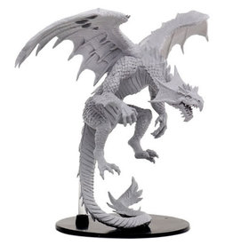 Paizo Minis PF DC Gargantuan White Dragon