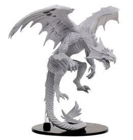 Paizo Pathfinder Minis (unpainted): Gargantuan White Dragon 73145