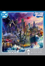 Ceaco Thomas Kinkade: DC Comics Showdown at Gotham Pier 1000 pieces
