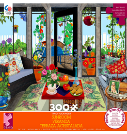 Ceaco Tracy Flickinger: Sunroom 300p