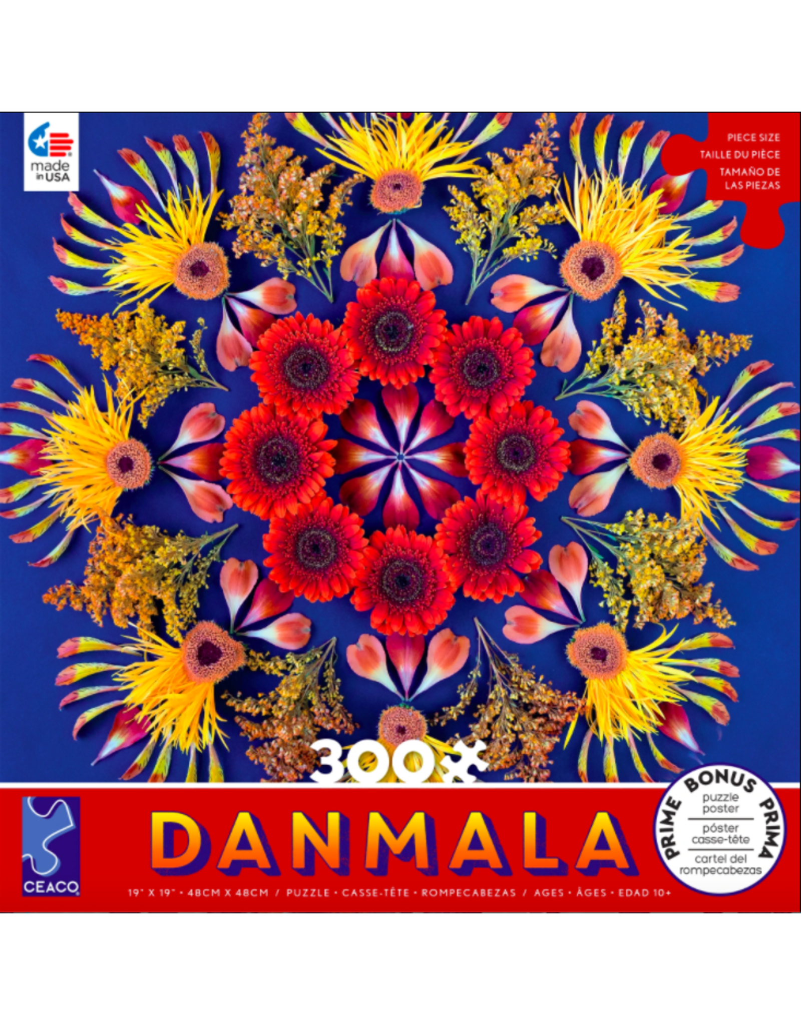 Ceaco Danmala: Red 300 pieces