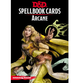 Gale Force Nine D&D 5e Spellbook Cards - Arcane