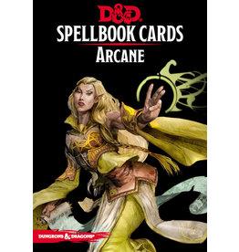 Wizards of the Coast D&D 5e Spell Deck Arcane