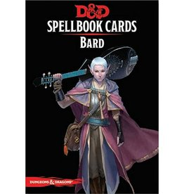 Wizards of the Coast D&D 5e Spellbook Cards - Bard
