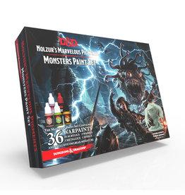 Dungeons & Dragons D&D Nolzur's Marvelous Pigments Monster Paint Set