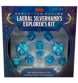 Dungeons & Dragons D&D 5e Laeral Silverhand Dice & Miscellany