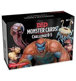 D&D 5e Monster Cards CR 0-5