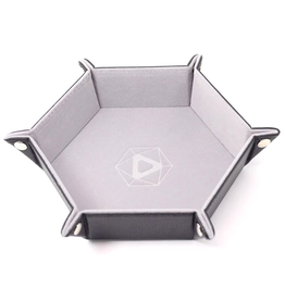 Die Hard Dice DHD: Dice Tray Hex Gray