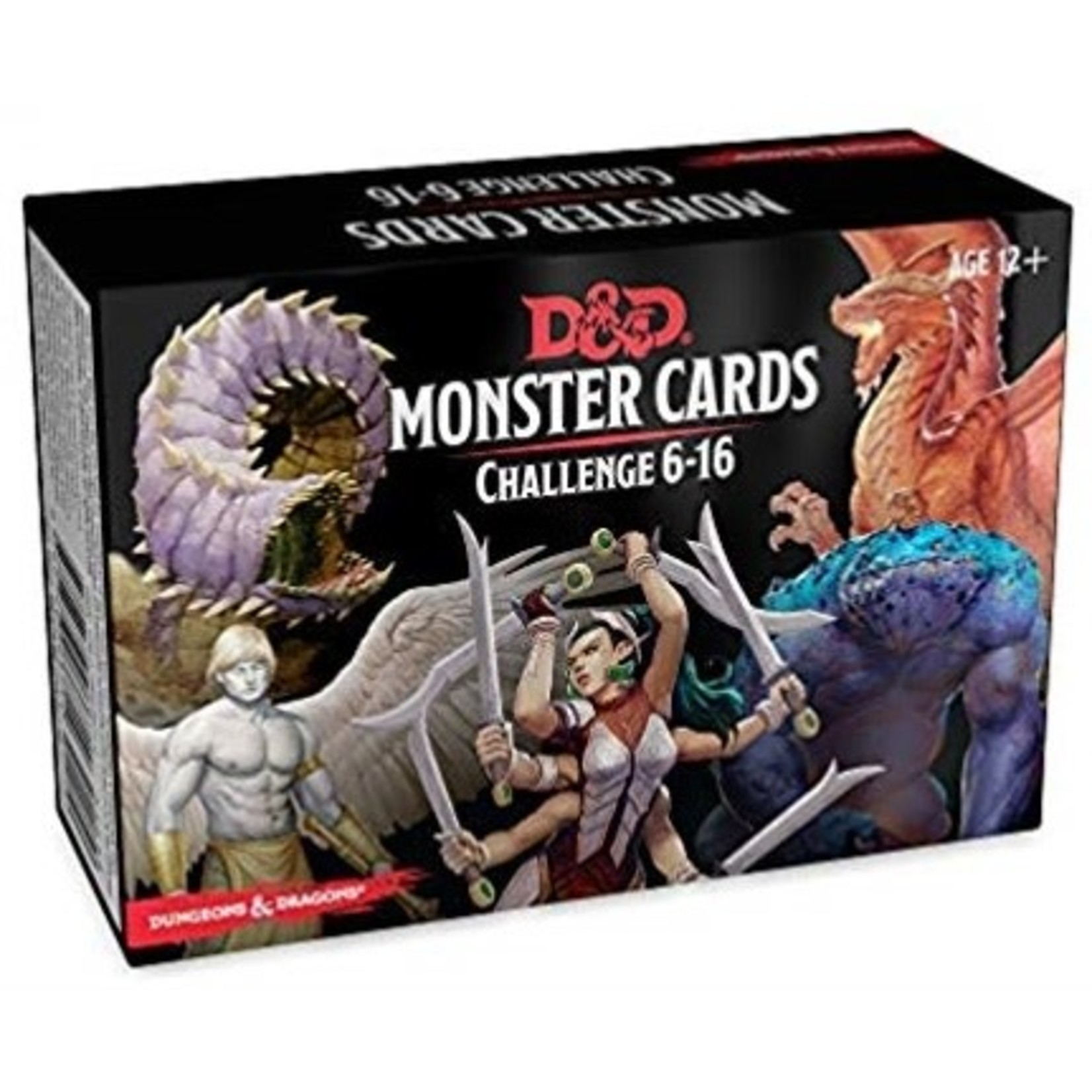 Gale Force Nine Dungeons & Dragons 5th Edition: Monster Cards-CR 6-16