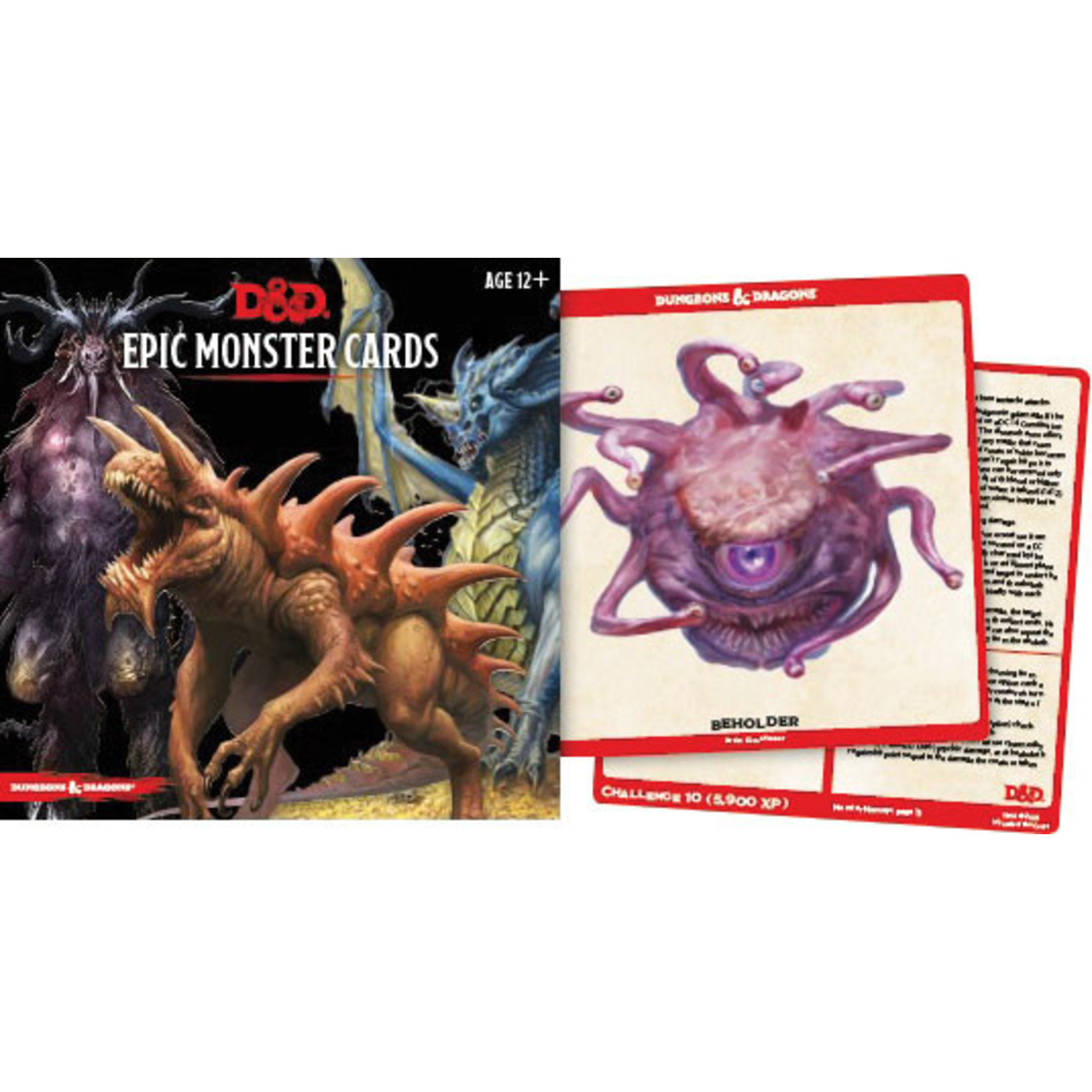 Gale Force Nine Dungeons & Dragons 5th Edition: Monster Cards-Epic Monsters
