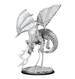 WizKids D&D Minis (unpainted): Young Blue Dragon Wave 8, 73683