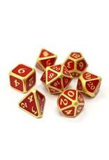 Die Hard Dice Die Hard Dice: 7-Set Mythica Satin Gold Ruby