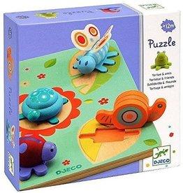 Djeco Wooden Puzzles Lilo