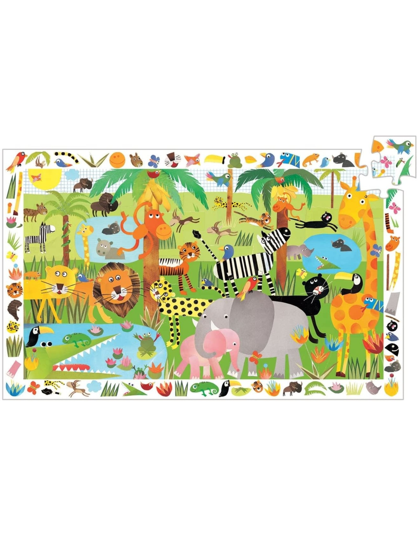 Djeco Jungle Observation (35 pieces)