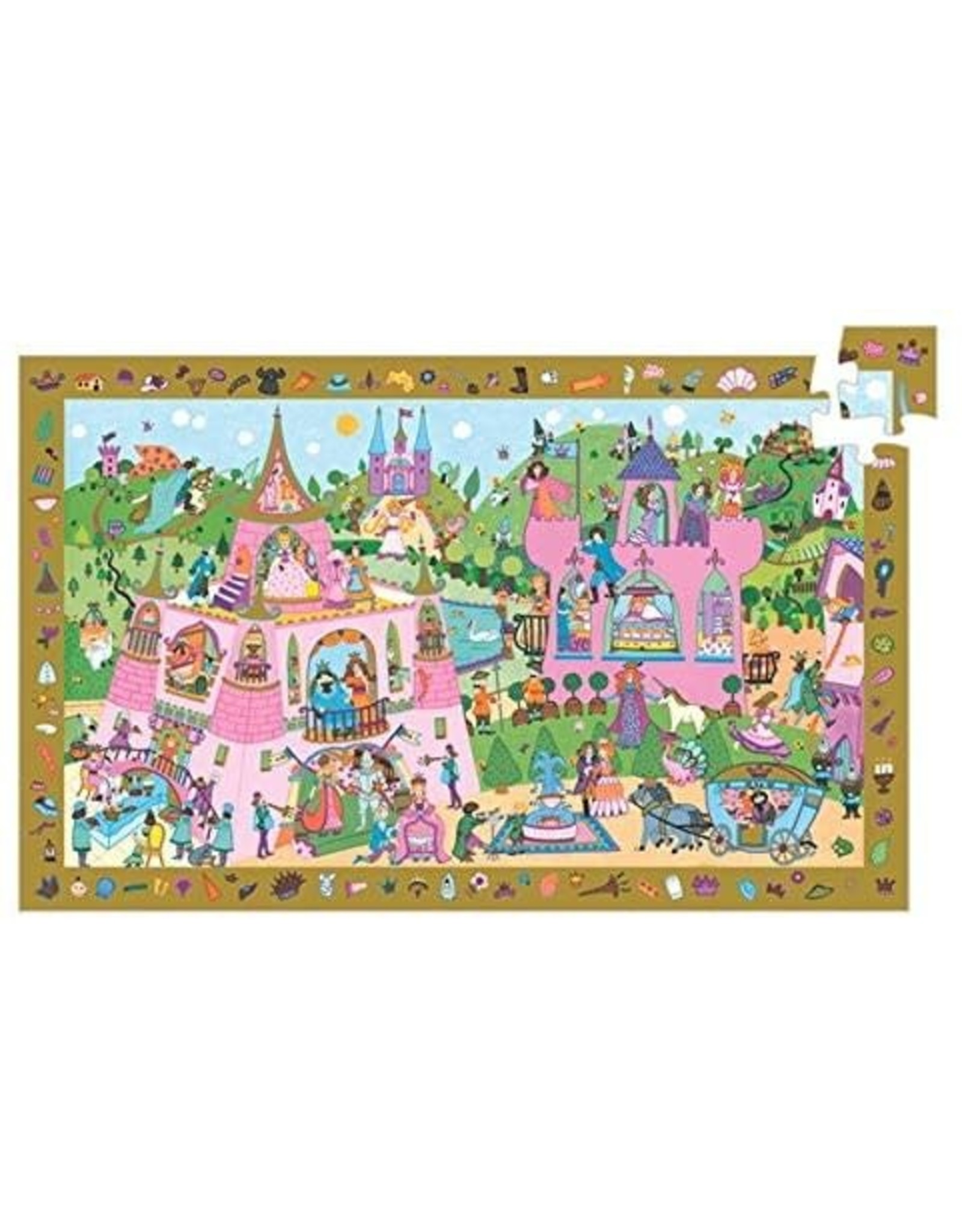 Djeco Princess Observation (54 pieces)