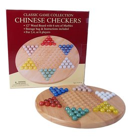 Hansen Chinese Checkers with Marbles (Hansen)
