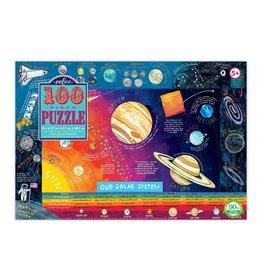 Eeboo Solar System  - 100 Piece Jigsaw Puzzle (eeBoo)