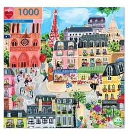 Eeboo Paris in a Day - 1000 Piece Jigsaw Puzzle