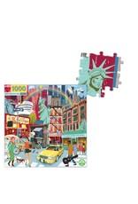 eeBoo NYC Life 1000 Piece Puzzle