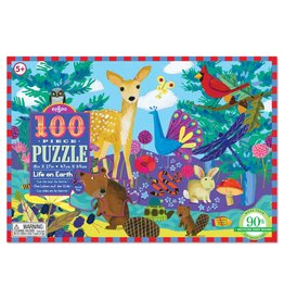 Eeboo Life on Earth 100 - Piece jigsaw puzzle