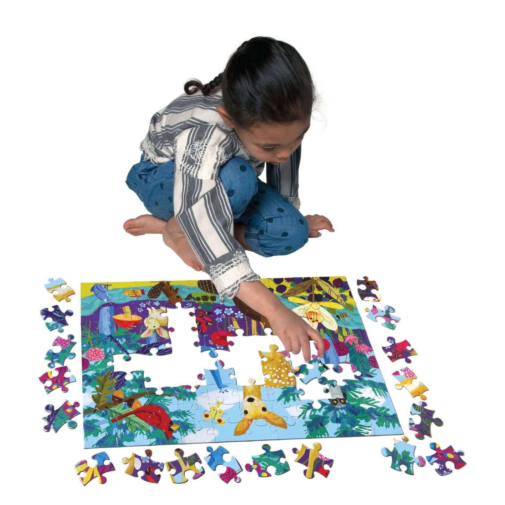 Eeboo Life on Earth 100 - Piece jigsaw puzzle