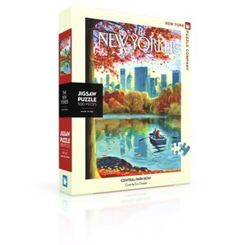 New York Puzzle Company Eric Drooker - Central Park Row 500p