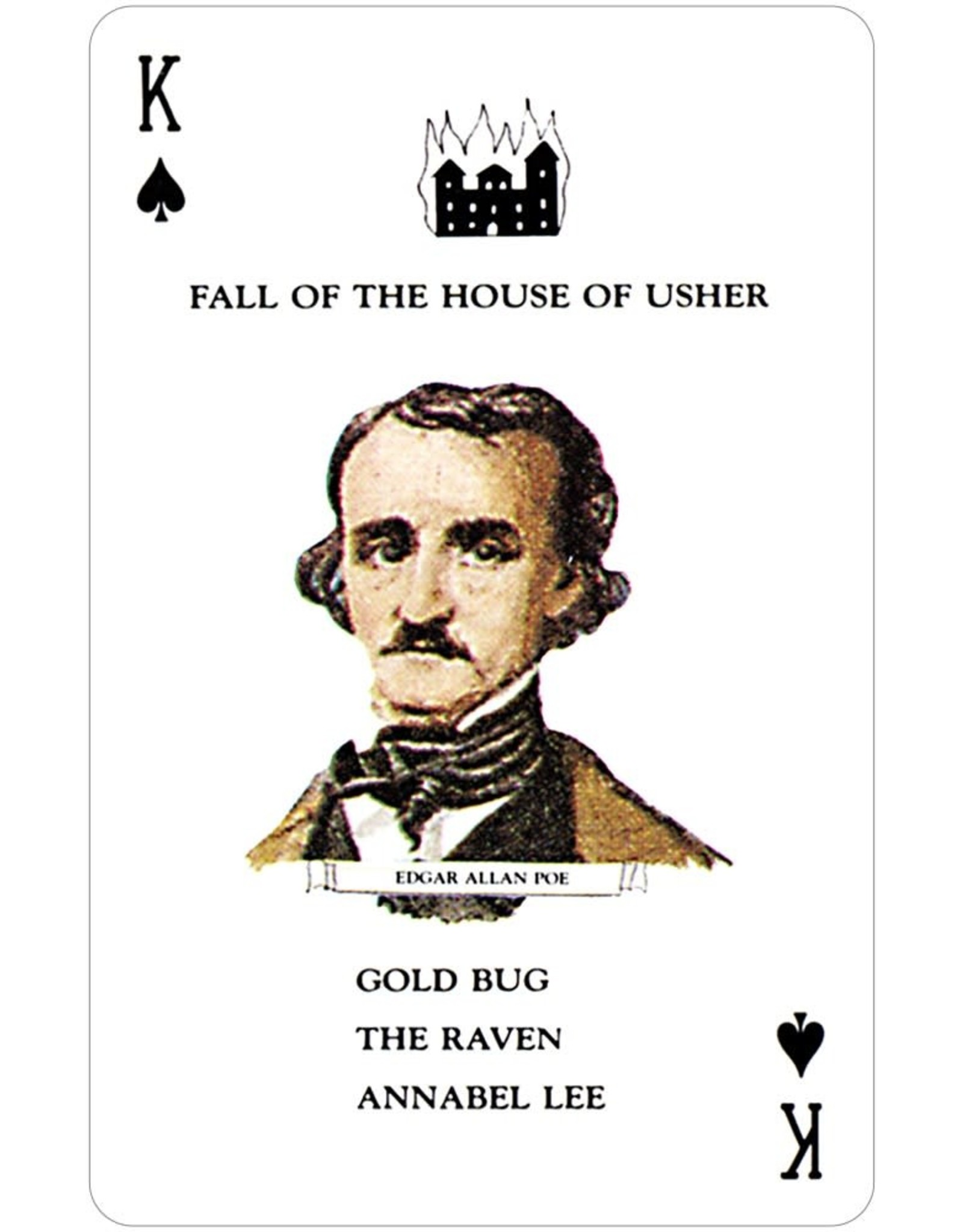 US Game Systems Cards:  Authors Card Game