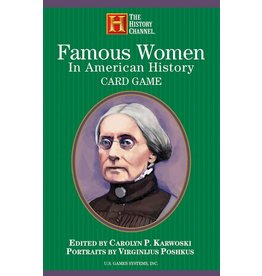 The History Channel Cards: Famous Women in American History