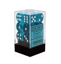 Chessex: Teal d6 Dice