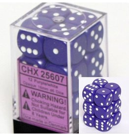 Chessex: Purple d6 Dice (12)