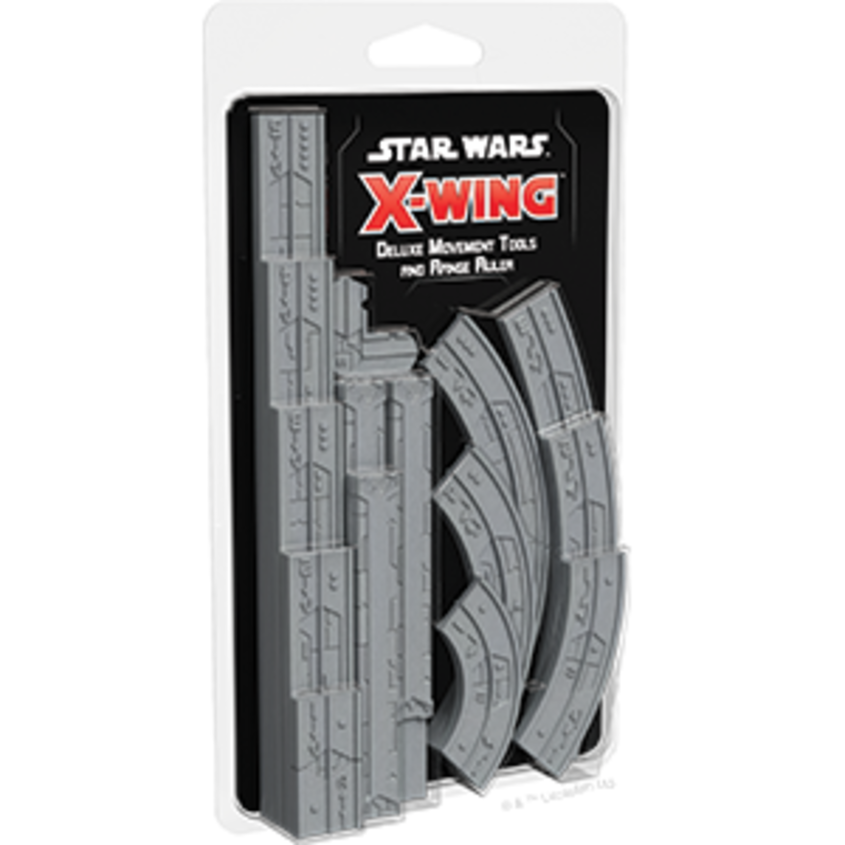 Fantasy Flight Games Star Wars X-Wing 2nd Edition: Deluxe Movement Tools & Range Ruler Expansion Pack