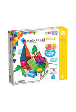 Magna-Tiles Magna-Tiles House 28 Piece Set