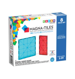 Magna-Tiles Magna-Tiles Rectangles 8p Expansion Set