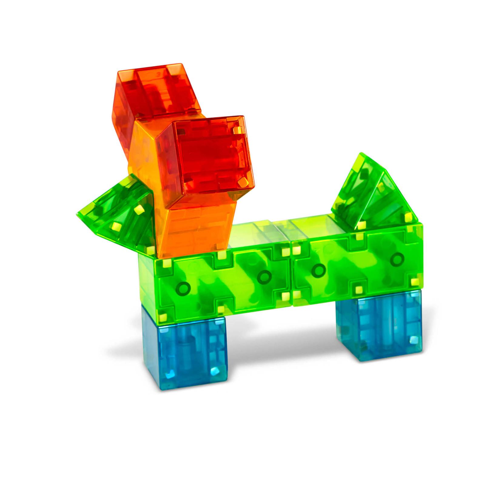 Magna-Tiles Magna-Qubix 19 Piece Set