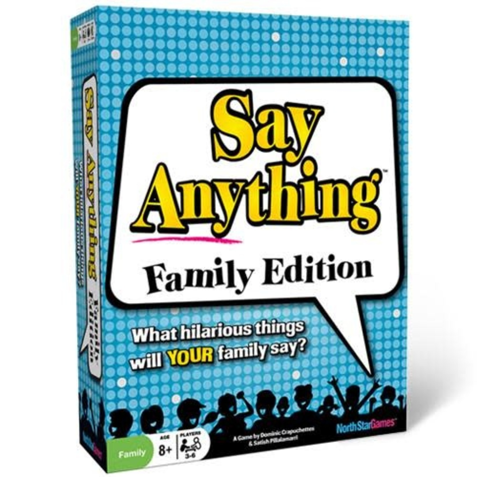 North Star Games Say Anything Family Edition