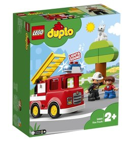 Lego Duplo Fire Truck 21p