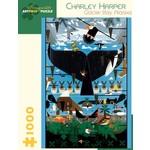 Pomegranate Charley Harper: Glacier Bay, Alaska - 1000 Piece Jigsaw Puzzle