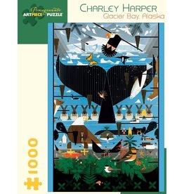 Pomegranate Charley Harper: Glacier Bay, Alaska 1000p