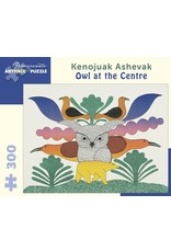 Pomegranate Kenojuak Ashevak: Owl at the Centre 300 pieces
