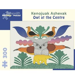 Pomegranate Kenojuak Ashevak: Owl at the Centre 300p
