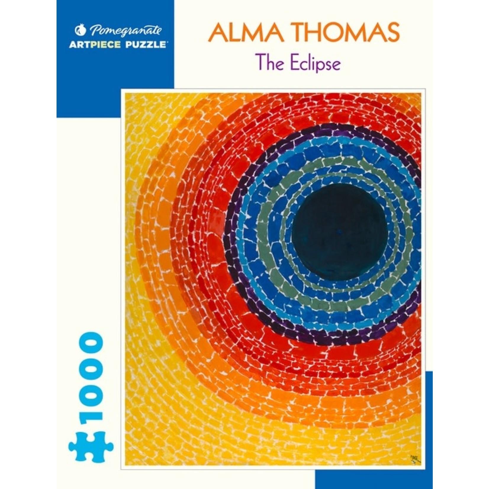 Pomegranate Alma Thomas: The Eclipse - 1000 Piece Jigsaw Puzzle