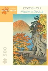 Pomegranate Kawase Hasui: Autumn At Saruiwa 500 pieces