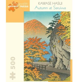 Pomegranate Kawase Hasui: Autumn At Saruiwa 500p