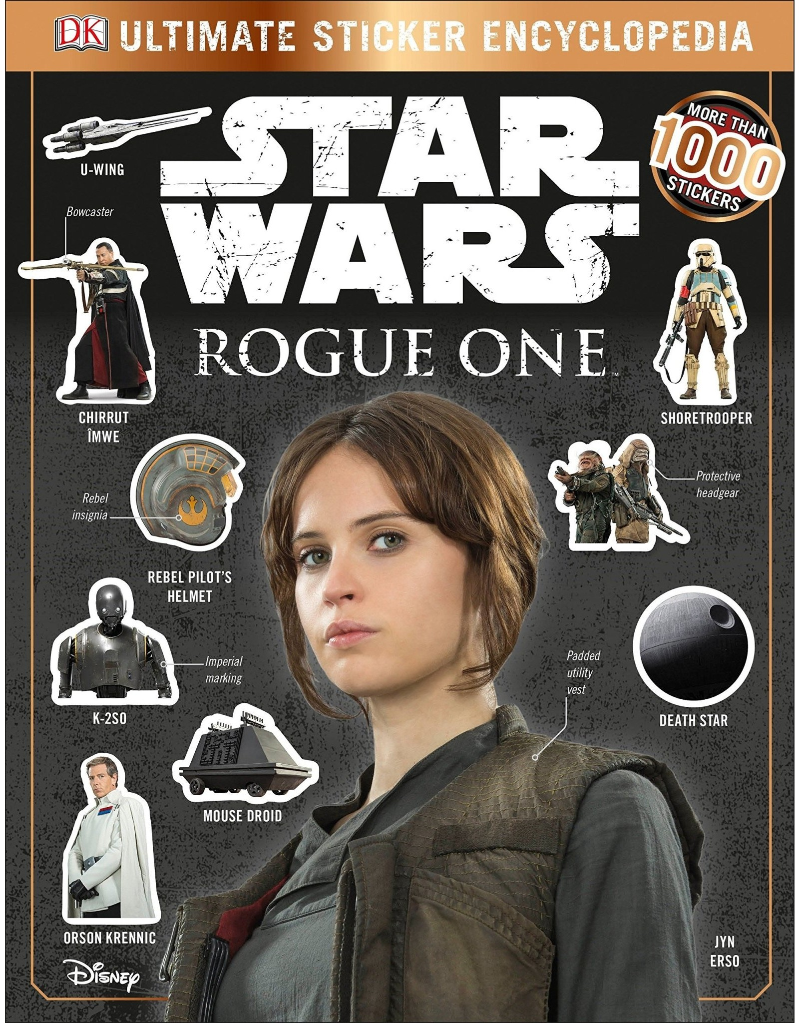 Star Wars Star Wars Rogue One Ultimate Sticker Encyclopedia