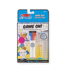 Melissa and Doug Write On Reusable Games