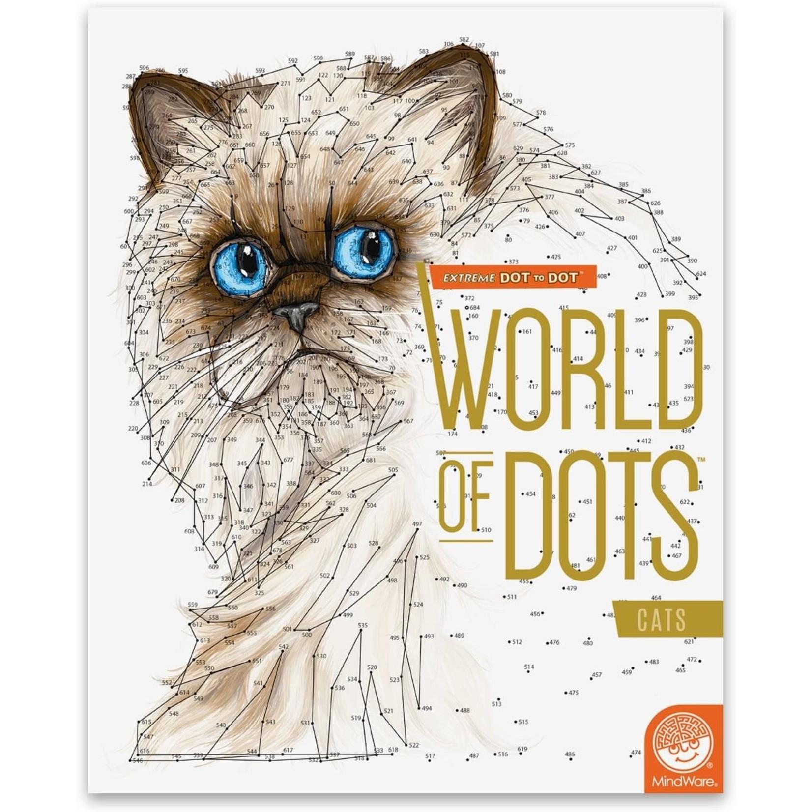 Mindware Extreme Dot to Dot Cats