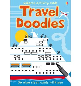 Usborne Travel Doodles Activity Cards